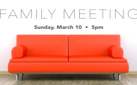 FAMILY MEETING MARCH 2019